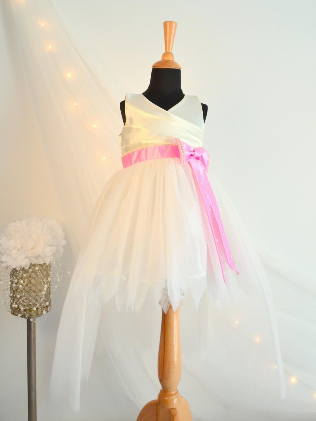 TBT0015 1 TBT High-Low Bow Dress