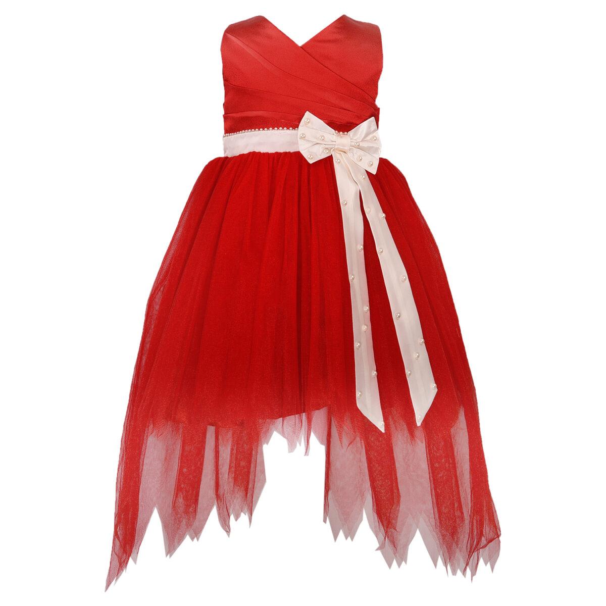 DSC 2824 copy TBT High-Low Bow Dress