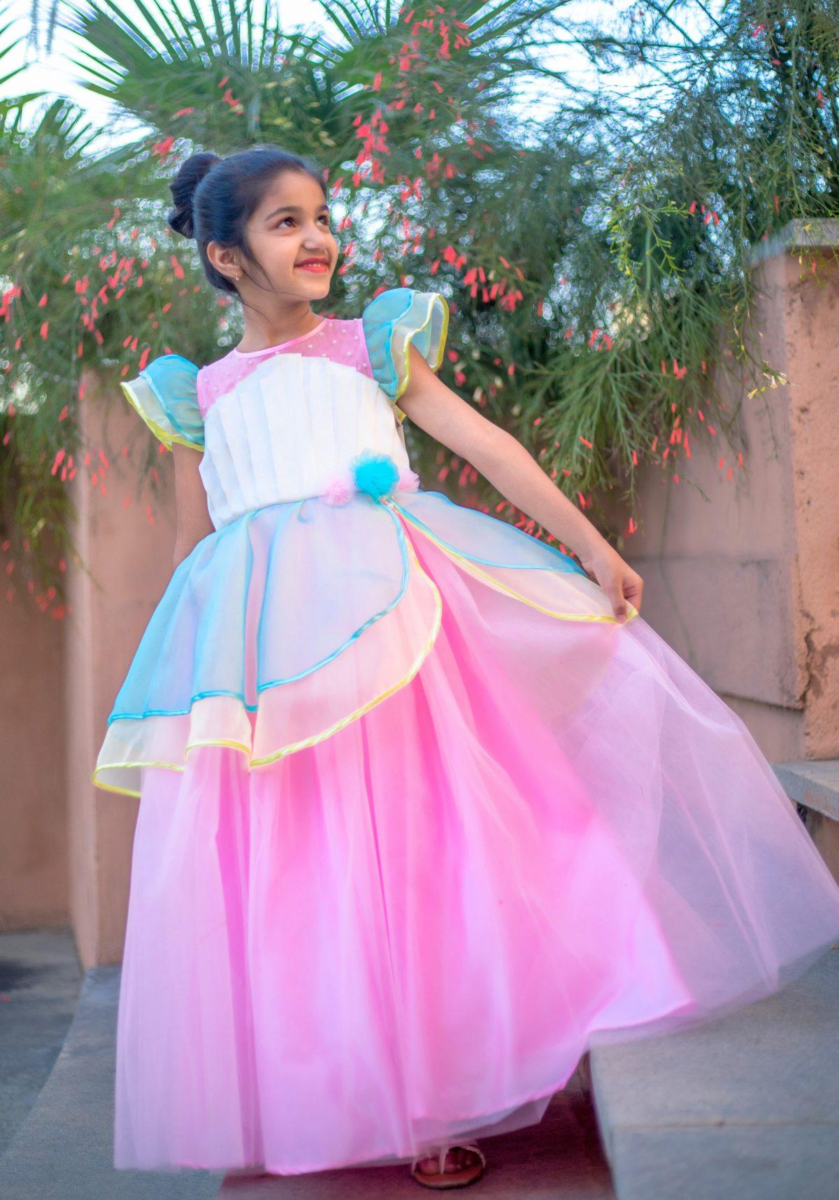IMGL0145 1 scaled Unicorn Theme Birthday Dress
