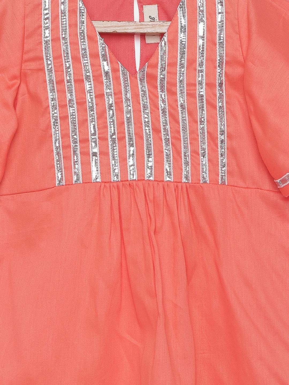 5 7 Bell sleeves gota Kurta pyjama with Dupatta